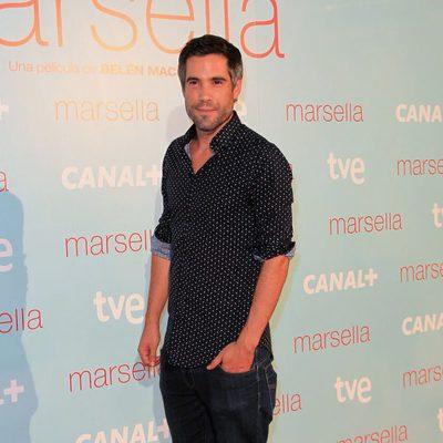 Unax Ugalde en el estreno de 'Marsella' en Madrid