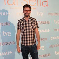 Julián López en el estreno de 'Marsella' en Madrid