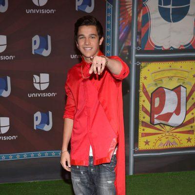 Austin Mahone en los Premios Juventud 2014