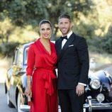 Sergio Ramos y Pilar Rubio en la boda de René Ramos y Vania Millán