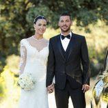 René Ramos y Vania Millán el día de su boda