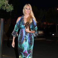 Carolina Cerezuela en una cena solidaria en favor de El Chad en Mallorca