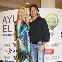 Carlos Moyá y Carolina Cerezuela en una cena solidaria en favor de El Chad en Mallorca