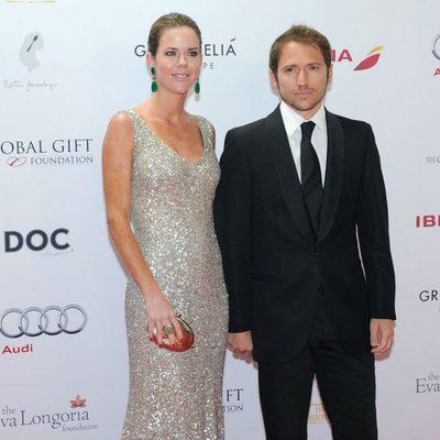 Amelia Bono y Manuel Martos en la Global Gift Gala de Marbella 2014
