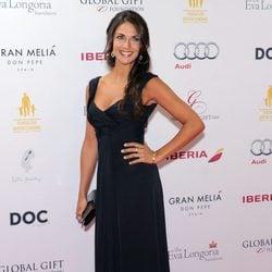 Lorena Bernal en la Global Gift Gala de Marbella 2014