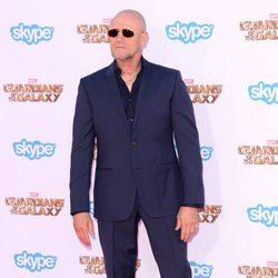 Michael Rooker en el estreno de 'Guardianes de la Galaxia' en Los Angeles