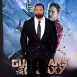 Dave Bautista en el estreno de 'Guardianes de la Galaxia' en Los Angeles