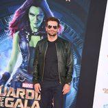 Bradley Cooper en el estreno de 'Guardianes de la Galaxia' en Los Angeles