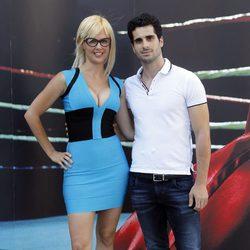 Miriam Sánchez y Cristo Vivanco en Youboxing Night Show