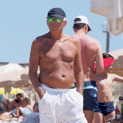 Giorgio Armani de vacaciones en Ibiza