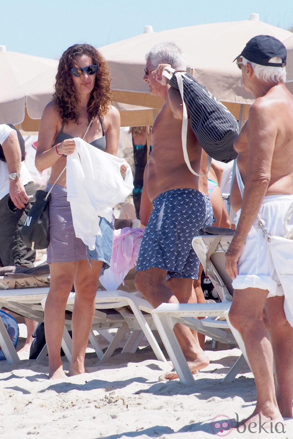 Giorgio Armani y su sobrina Roberta Armani en Ibiza