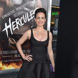 Carla Gugino en el estreno de 'Hércules' en Los Angeles