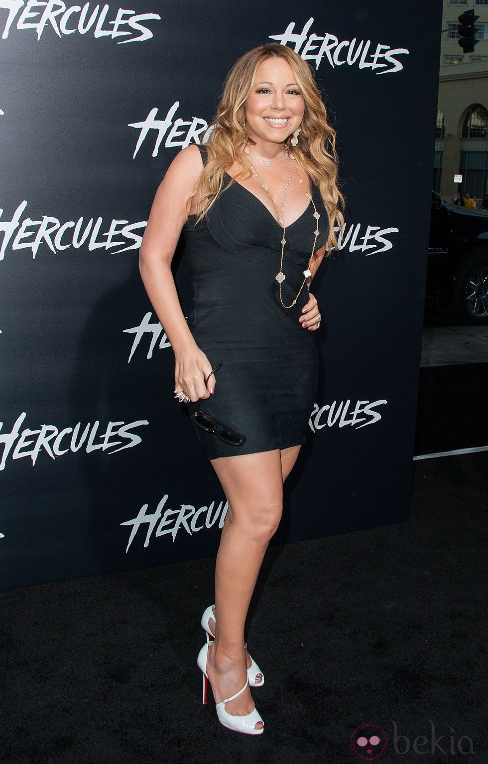 Mariah Carey en el estreno de 'Hércules' en Los Angeles