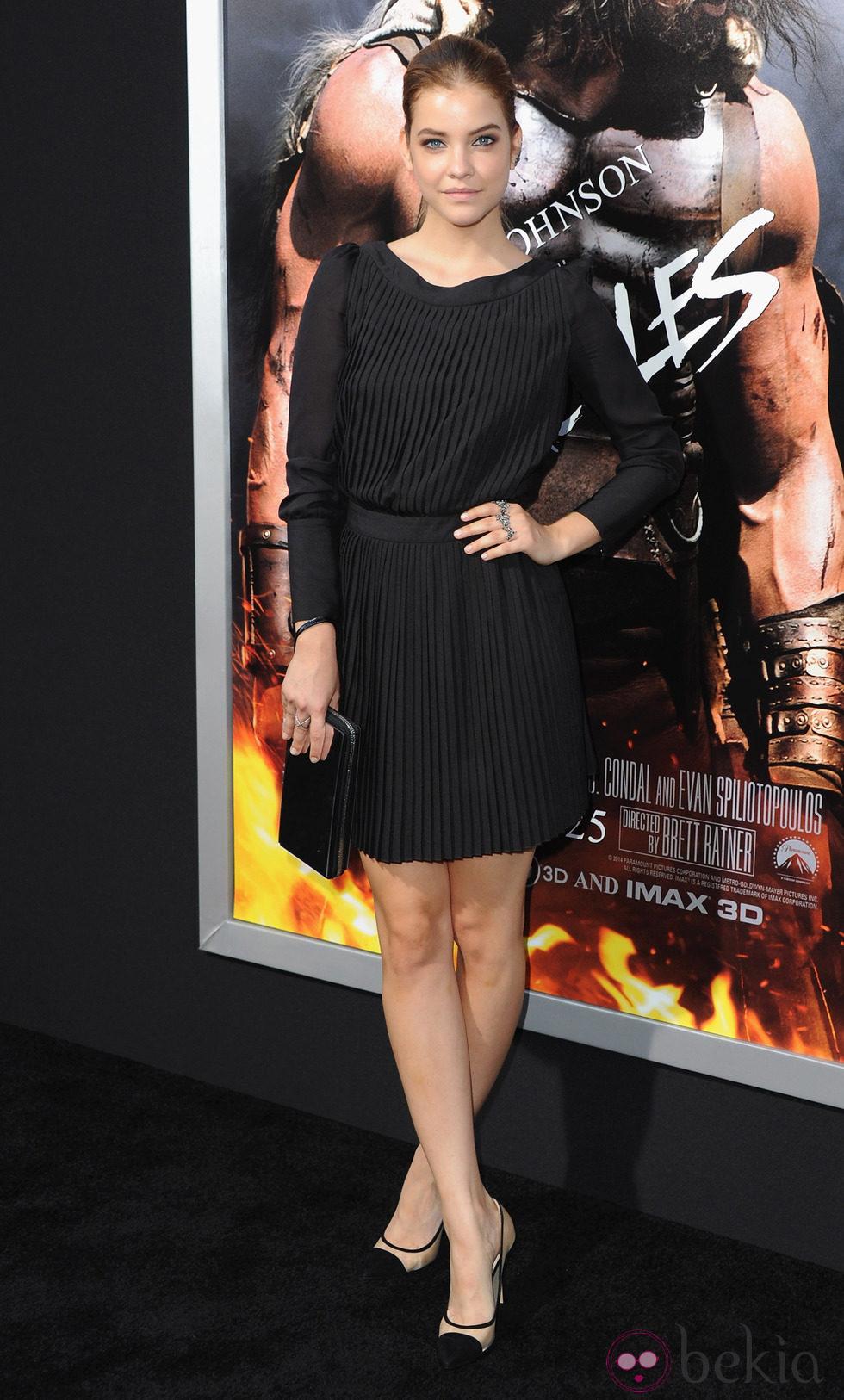 Barbara Palvin en el estreno de 'Hércules' en Los Angeles