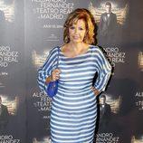 María Teresa Campos en el concierto de Alejandro Fernández en Madrid