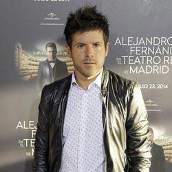 Pablo López en el concierto de Alejandro Fernández en Madrid