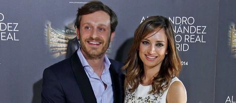 Juan Peña y Sonia González en el concierto de Alejandro Fernández en Madrid