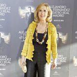 Nieves Herrero en el concierto de Alejandro Fernández en Madrid