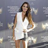 Romina Belluscio en el concierto de Alejandro Fernández en Madrid