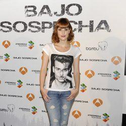 Natalia de Molina en la presentación del rodaje de 'Bajo sospecha'