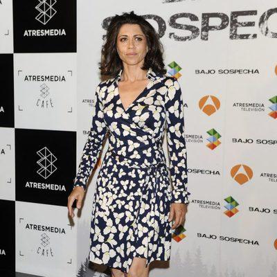 Alicia Borrachero en la presentación del rodaje de 'Bajo sospecha'