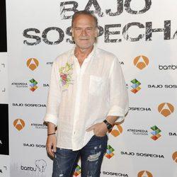 Lluís Homar en la presentación del rodaje de 'Bajo sospecha'