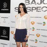 Blanca Romero en la presentación del rodaje de 'Bajo sospecha'