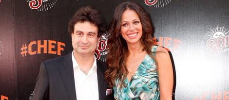 Eva González y Pepe Rodríguez en el estreno de '#Chef' en Madrid