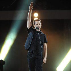 Jorge Ruiz en los Premios 40 Principales 2012