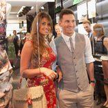 Leo Messi y Antonella Roccuzzo en Capri