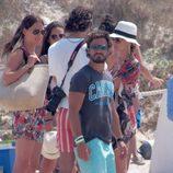 Carlos Felipe de Suecia en una playa de Ibiza