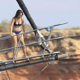Sofia Hellqvist en bikini durante sus vacaciones en Ibiza