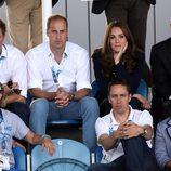 Los Duques de Cambridge, el Príncipe Harry y el Príncipe Eduardo en los Juegos de la Commonwealth 2014