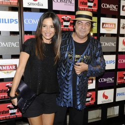Celia Gómez y Antonio Canales en la presentación del espectáculo 'Poeta en Nueva York' en Madrid