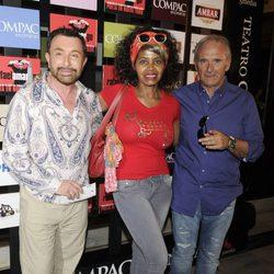 José María Parada y Regina Do Santos en la presentación del espectáculo 'Poeta en Nueva York' celebrada en Madrid