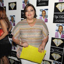 Charo Reina en la fiesta de cumpleaños de Nacho Montes