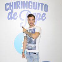 Adrián Rodríguez en la presentación de 'El Chiringuito de Pepe'