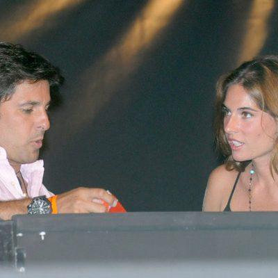 Fran Rivera y Lourdes Montes en el concierto de Alejandro Fernández en Marbella