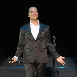 Alejandro Fernández durante su concierto en Marbella