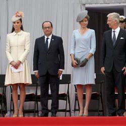 Los Duques de Cambridge, los Reyes de Bélgica y los presidentes de Alemania y Francia en el centenario del estallido de la I Guerra Mundial