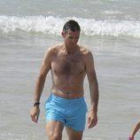 Iñaki Urdangarín en bañador en Bidart