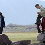 Los Príncipes de Dinamarca y su hija Josefina en Groenlandia