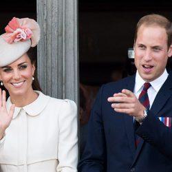 El Príncipe Guillermo y Kate Middleton en Mons en el centenario del estallido de la I Guerra Mundial