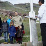 La Familia Real danesa en un acto durante su visita oficial a Groenlandia