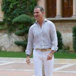 Felipe VI en su primer posado en Mallorca como Rey de España