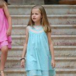 La Princesa Leonor en su primer posado en Mallorca como Princesa de Asturias