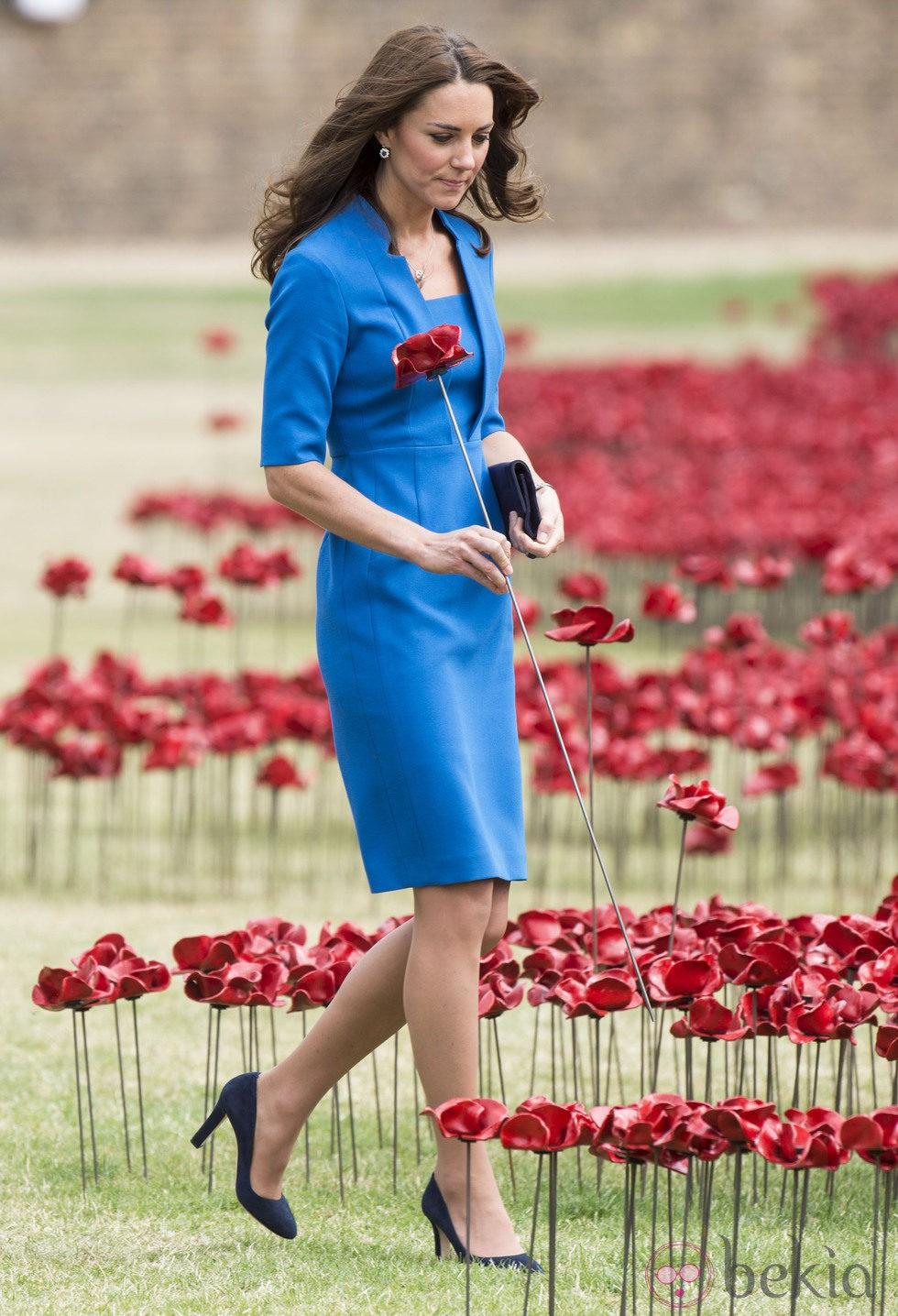 La Duquesa de Cambridge en la Torre de Londres