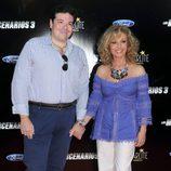 Silvia Tortosa y Carlos Cánovas en el estreno de 'Los Mercenarios 3' en Marbella