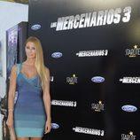 Elisabeth Reyes en el estreno de 'Los Mercenarios 3' en Marbella