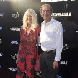 Gunilla Von Bismarck y Luis Ortiz en el estreno de 'Los Mercenarios 3' en Marbella